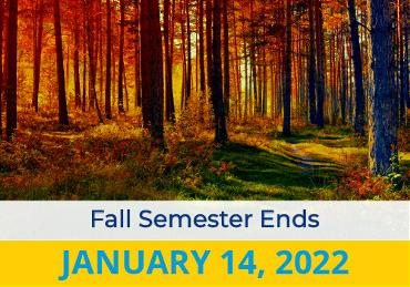 Fall Semester End 2022 Image