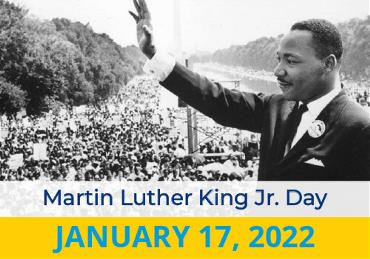 Martin Luther King Jr. Day 2022 Image